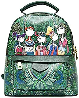 Women's Backpack Pattern Handbag
