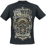Volbeat Old Letters Camiseta Negro XXL