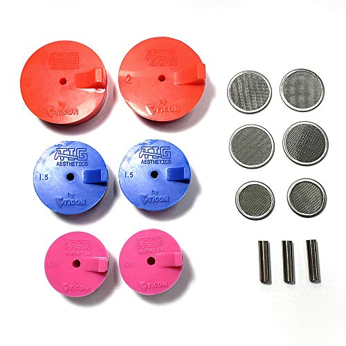 Silicone Back Purge Plugs (Complete Kit - Exhaust, Header, Manifold) - Tig Aesthetics by Ticon Industries