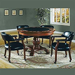 Steve Silver Company Tournament 5 Piece Dining Set with Gaming Top