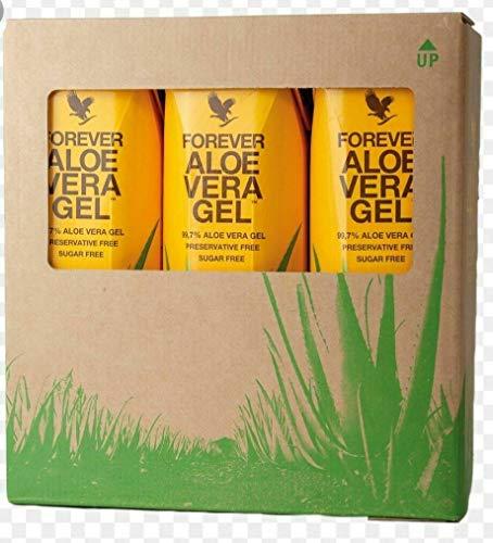 Forever Aloe Vera Gel, 3er-Packung