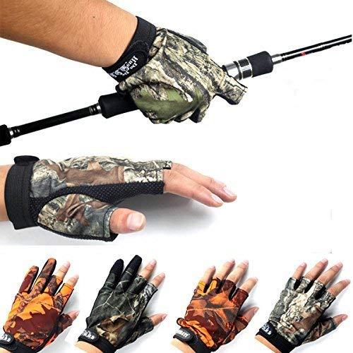 Uteruik Anti Slip Outdoor Angeln Handschuhe 3 Finger 5 Finger Handschuhe Für Männer Gegen - wasserdichte Pannensichere PVC Fingerlose Gummihandschuhe - 1 STÜCKE