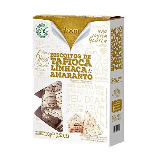 Biscoito de Tapioca Linhaça e Amaranto 100G