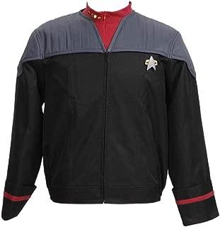 Star Fans Men's Men's Suit Jacket with Inner Shirt Nemesis Uniform Costume (XL, Grey)