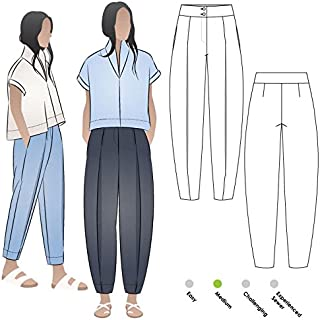 Style Arc Sewing Pattern - Teddy Designer Pant (Sizes 04-16) - Click for Other Sizes Available