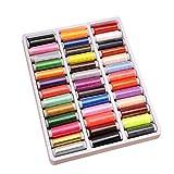 RUYU 39 Color 200 Yard Herramientas de Costura del Hilo de Coser de poliéster acolchar Suministros Bordados de Hilos for máquina de Coser de Mano Costura (Color : 39xian)