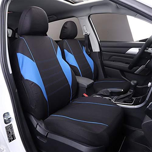 Chemu Juego de 9 fundas de asiento universales para Mitsubishi L200 ASX Eclipse Cross Outlander Cari