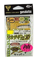 がまかつ(Gamakatsu) ワカサギ連鎖袖タイプ 5本 W181 0.5号-ハリス0.2