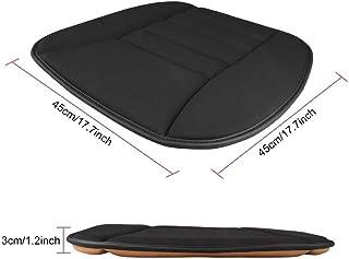DKX Universal Car Seat Cushion Pad Memory Foam Mat Car Seat Covers Accessories Back Relief