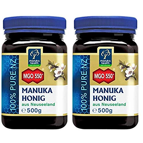 Manuka Health MGO 550+, 2er Pack (2 x 500 g)