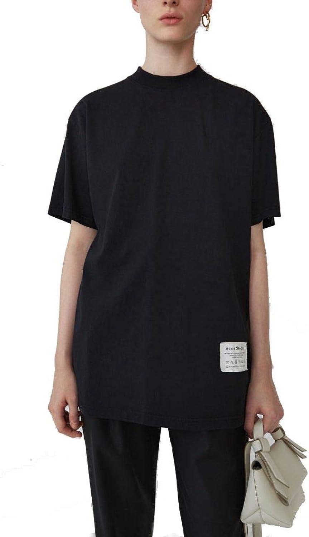 ACNE STUDIOS Women's AL0052BLK Black Cotton TShirt