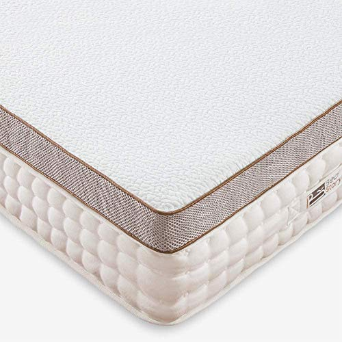 BedStory 5cm Gel Memory Foam Topper 160x200 Matratzentopper, Visco-Gelschaum Matratzenauflage für unbequemem Betten/Boxspringbett unbequemes Schlafsofa