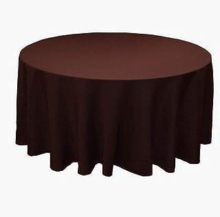 TWTIQ 23 Couleurs Polyester Tissu De Table De Couverture De Table De Linge De Table Ronde Décoration De Table De Mariage H...