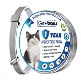 BOTARO Cat Collar, Long and Adjustable 13 Inches Collar for Cats, One Size Fit All Waterproof Cat Collar