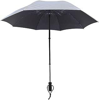 Telescope Handsfree Umbrella Silver Uv-Protection 50+
