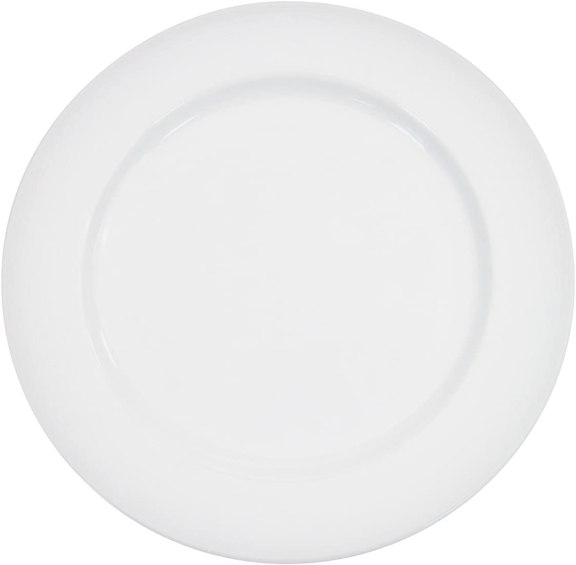 Save money CAC China HMY-6 6-1 4-Inch Harmony White Porcelain o Plate Very popular Box