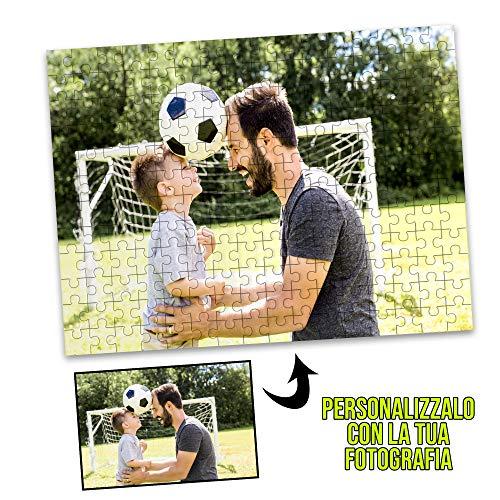 My Digital Print Puzzle Personalizzato con Foto, 384 Pezzi, 28x40cm, Idea Regalo per la Festa del papà