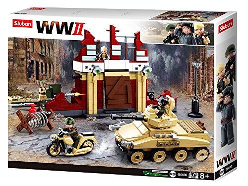 Sluban SL95567, WWII - Kampf um Stalingrad [M38-B0696], Spielset , Klemmbausteine, Soldaten, mit Spielfigur, Army WWII