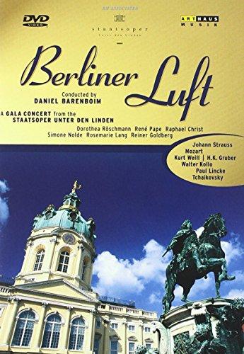 Berliner Luft - Ein Gala-Konzert aus der Staatsoper Unter den Linden [Alemania] [DVD]