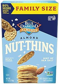 Blue Diamond Almonds Family Size Almond Nut-Thins Cracker Crisps 7oz