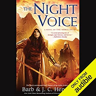 The Night Voice     A Novel of the Noble Dead              Written by:                                                                                                                                 Barb Hendee,                                                                                        J. C. Hendee                               Narrated by:                                                                                                                                 Tanya Eby                      Length: 13 hrs and 46 mins     1 rating     Overall 5.0