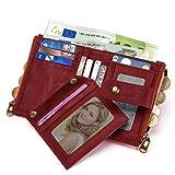 Zoom IMG-1 teuen portafoglio donna pelle vera