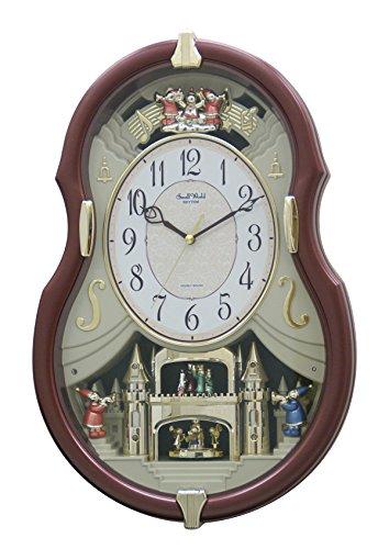 Rhythm Clocks 'Viola Entertainer II' Musical Motion Clock