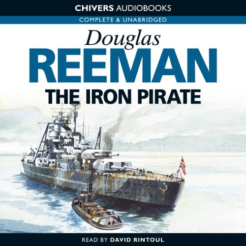 The Iron Pirate audiobook cover art