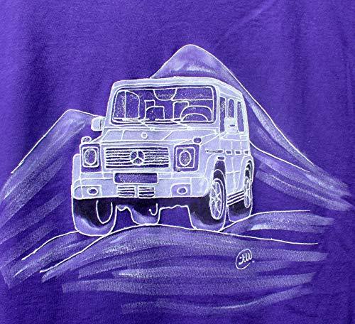 Mercedes Benz G-Klasse, G 500, Papa Geschenk, AMG Wandkunst, Gemälde G-Wagen, Herren T-Shirt, T-Shirt für Sammlerstücke, Oldtimer, SUV-Shirt, Benz Unique.