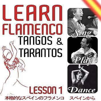 Learn Flamenco. Sing, Play And Dance Tangos And Tarantos. Lesson 1
