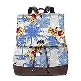 ちんころ ヨーテリー レディース リュックサック 3Dプリント PUレザー ナップザック 人気 ビジネスバッグ カジュアル バックパック 通勤 通学 旅行 飾り物 かばん プレゼント