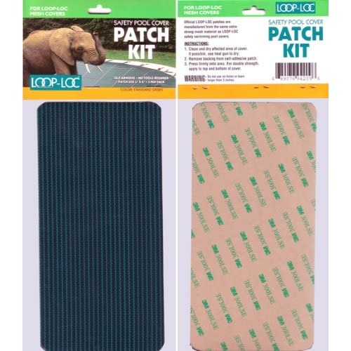Loop-Loc Patch Kit For SOLID Ultra Loc II Swimming Pool Cover Standard GREEN