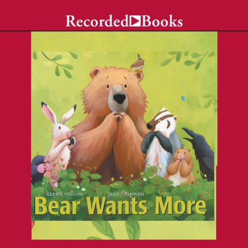 Bear Wants More audiobook cover art