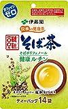 伊藤園 伝承の健康茶 韃靼100%そば茶 ティーバッグ 14袋