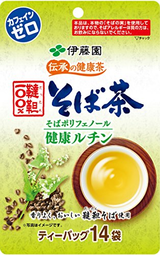 【Pick up!】 伊藤園 伝承の健康茶 韃靼100%そば茶 ティーバッグ 14袋