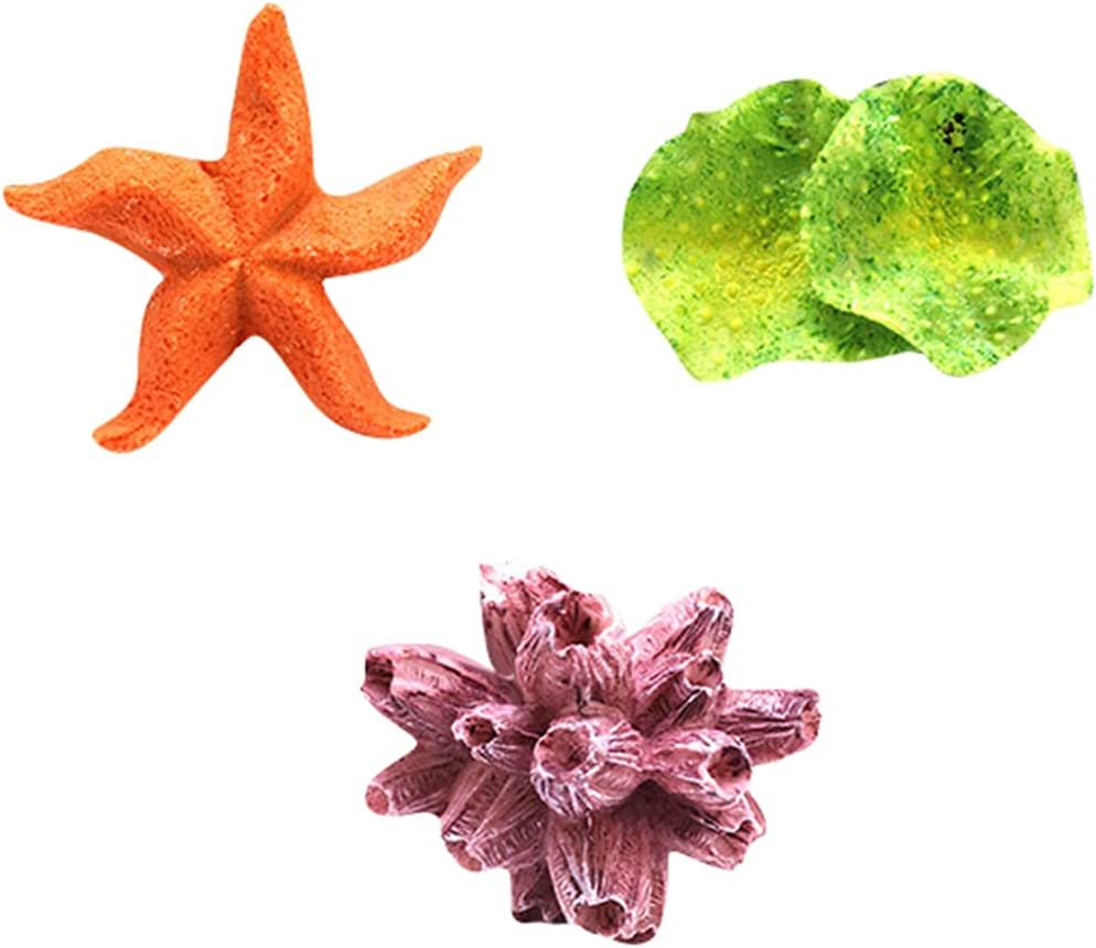 PetPhindU 3 Pcs Artificial sale Coral Ornament Decoration Fi Aquarium Spring new work one after another