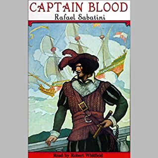 Captain Blood audiobook cover art