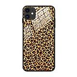 F&X Hülle für iPhone 11 - Leopard Leopardenmuster Damen -
