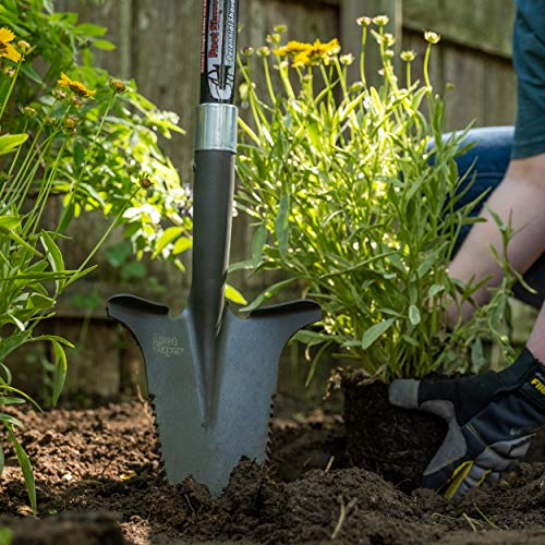 Radius Garden 23311, Root Slayer Perennial Shovel, Red