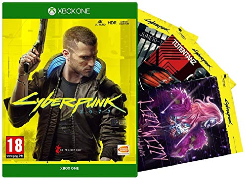 Cyberpunk 2077 + 3 Night City Postcards (Xbox One) (exclusive to Amazon.co.uk)