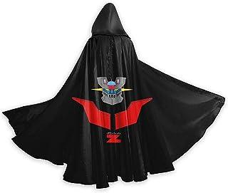 M-azi-nger Z L-o-go Unisex Adult Medium Halloween Capa Disfraz Capa Cape Cloak Vampire Magician Costume Accessories Props for Men Women Black