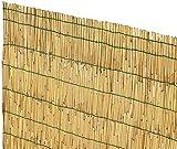 SF SAVINO FILIPPO Arella Arelle canniccio cannette in Canna di bambù pelato stuoia ombreggiante cm 150x300 cm 1,5x3 m per Copertura tettoia Gazebo Recinzione Giardino ringhiera Balcone in Bamboo