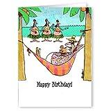 Birthday Wishes - Funny Birthday Card - Single Birthday Cards - 5x7 Birthday Greeting Card