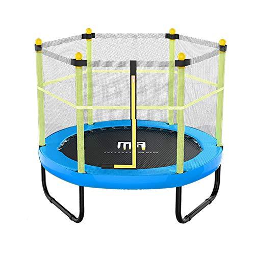 Bedrails HUO Kinderen Outdoor Trampoline Met Guardrail Mesh 60-inch Veiligheid Hek En Lente Pad Trampolines Voor Kinderen Meer dan 2 Jaar Oud