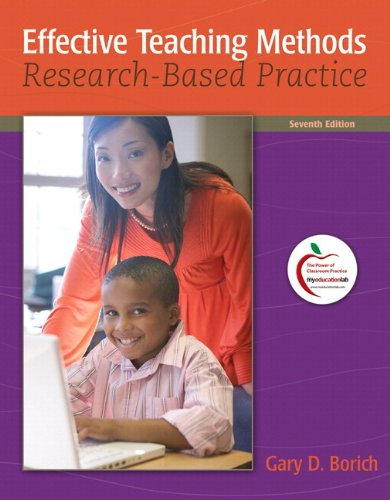 Effective Teaching Methods: Research-Based Practice (with...