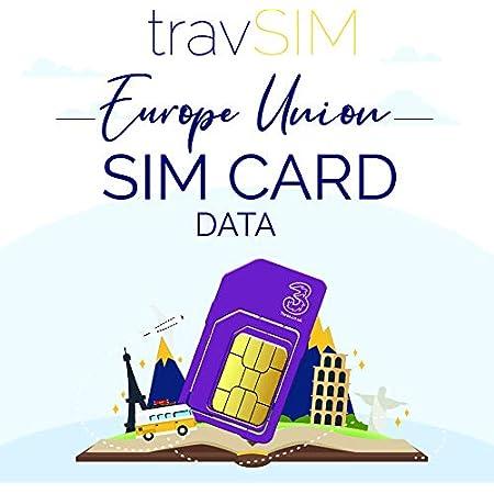 Prepaid Daten Sim Karte f/ür /Österreich mit 9 GB LTE Daten f/ür 30 Tage mobiles Internet