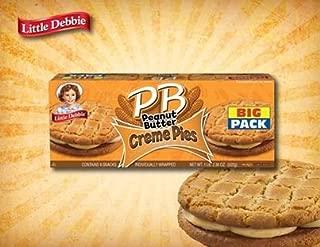 Little Debbie Peanut Butter Creme Pies (1box)
