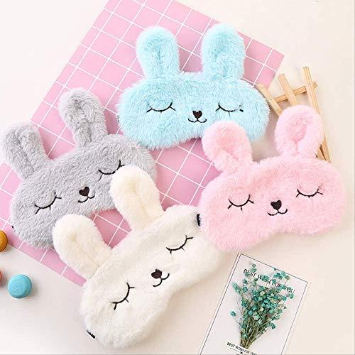 Pasen Bunny Decoraties voor Thuis Slapen Masker Vrouwen Kleurrijke Unisex Pasen Konijn Eieren Oog Cover Party Decoratie