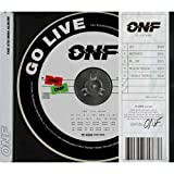 ONF 'Go Live' 4th Mini Album CD+100p Booklet+2p Morse Message Card+2p Selfie...