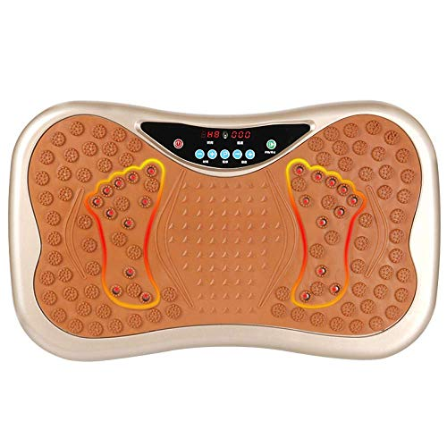 HEWEI Vibration Plate Professionelle High Power Silent Motor Home Abnehmen Körperstraffung Magnetfeldtherapie Shiatsu Massage Intelligente Fernbedienung Musik-Player